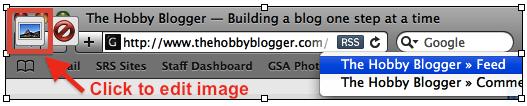 WordPress Image Editor Icon